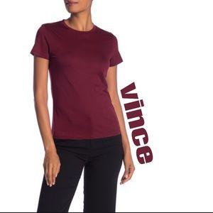 Vince Essentials Basic Tee Shirt